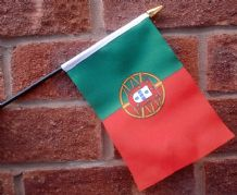 HAND WAVING FLAG (SMALL) - Portugal